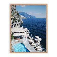 Cliffs of Capri Framed Printed Wall Art