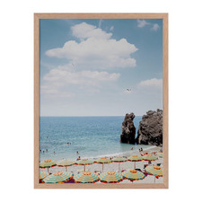 Monterosso Sunshine Framed Printed Wall Art