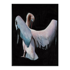 Crane Call Canvas Wall Art