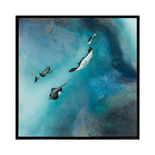 Stingrays Canvas Wall Art