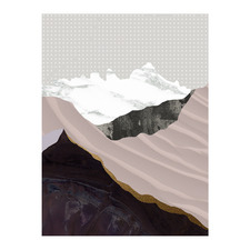Moving Mountains I Canvas Wall Art