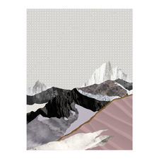 Moving Mountains II Canvas Wall Art