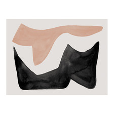 Reprieve Nude Canvas Wall Art
