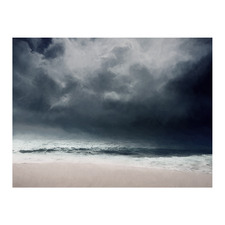 Grey Dawn Canvas Wall Art