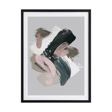 Serene Delight II Framed Printed Wall Art