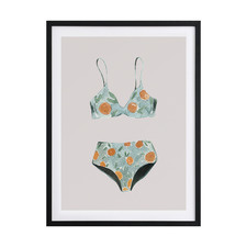 Swimsuit II Framed Printed Wall Art