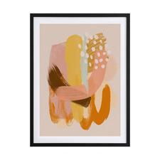A Golden Mood Framed Printed Wall Art