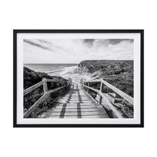 Bells Beach I Framed Printed Wall Art