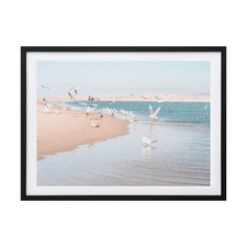 Flock of Seagulls Framed Printed Wall Art
