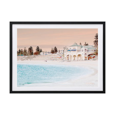 Cottesloe Beach Framed Printed Wall Art
