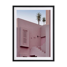 The Red Wall Framed Printed Wall Art