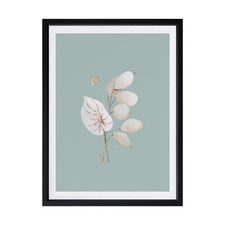 Mint Anthurium II Framed Printed Wall Art
