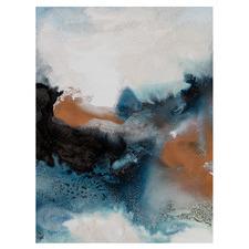 Water & Earth II Canvas Wall Art