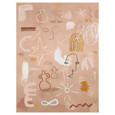 Cave Drawings Canvas Wall Art