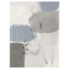 Concrete Decision II Canvas Wall Art