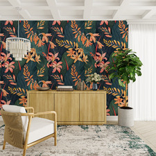 Tropical Nights Peel & Stick Wallpaper
