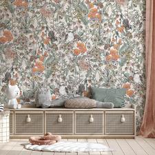 Olive Australiana Fairytale Peel & Stick Wallpaper