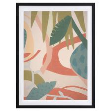 Tropical Oasis I Framed Printed Wall Art