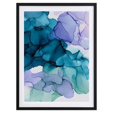 Bubblegum II Framed Printed Wall Art