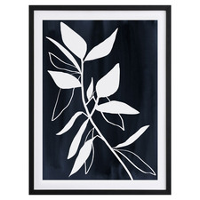 Indigo Etchings I Framed Printed Wall Art