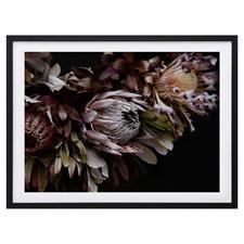 Dark Bouquet Framed Printed Wall Art
