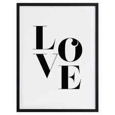 Big Love Framed Printed Wall Art