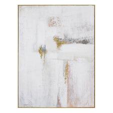 Bare Bones Hand Painted Framed Canvas Wall Art