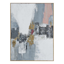 Composure Hand Painted Framed Canvas Wall Art
