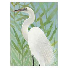 Water Bird II Canvas Wall Art