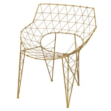 Mustard Graphix Chair
