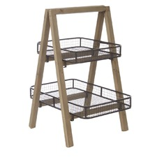 2 Tiered Tray Stand
