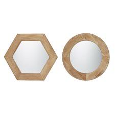2 Assorted Enivar Mirror