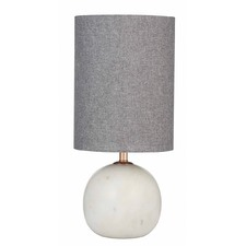 White Palazzo Marble Table Lamp