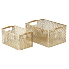 2 Piece Hunter Storage Boxes