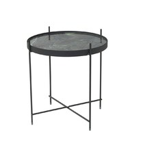 Clement Marble Print Side Table