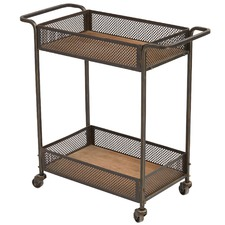 Bennet Iron & Pine Drinks Trolley