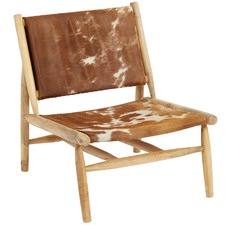 Rustic Haymes Cow Hide Chair
