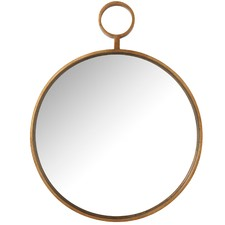 Golden Fob Mirror