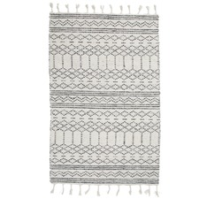 Patterned Suki Wool Blend Rug