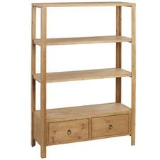 Beldon Fir Wood Shelving Unit