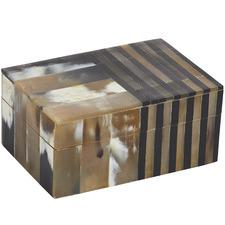 Mela Horn Deco Boxes (Set of 2)
