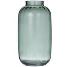 Green Hesta Glass Vases (Set of 2)