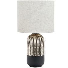 Black River Ceramic Table Lamp