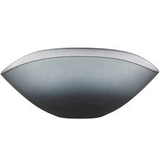 Matte Ombre Grey Ingrid Wave Glass Bowls (Set of 2)