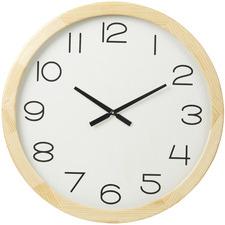 80cm White Eva Wooden Wall Clock