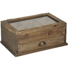 Wooden Storage Deco Boxes (Set of 2)
