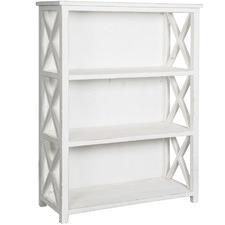 Whitewash Avalon Wooden Bookcase