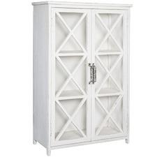 Whitewash Avalon Wooden Cabinet