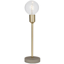 Gold Harvey Metal Table Lamps (Set of 2)