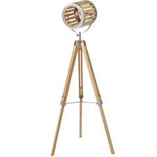 Roland Wooden Floor Lamp